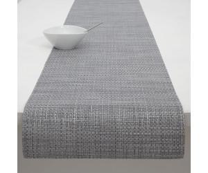 Chilewich Tischläufer Basketweave schattengrau -050 (36x183 cm)
