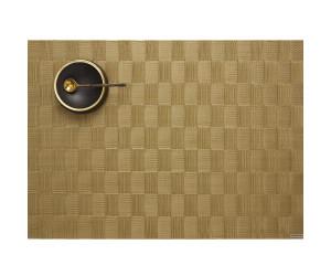 Chilewich Tischset Domino rechteckig gold
