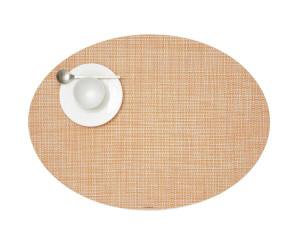 Chilewich Tischset Mini Basketweave oval orange -037 (36x49 cm)