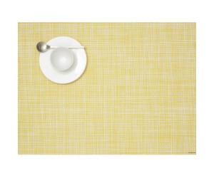 Chilewich Tischset Mini Basketweave rechteckig gelb -036 (36x48 cm)