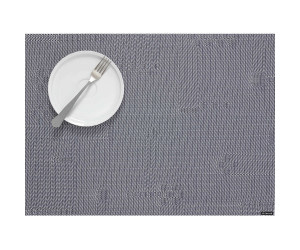 Chilewich Tischset Rechteckig Pixel grau -001 (36x48cm)