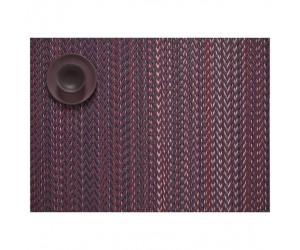 Chilewich - Tischset QUILL rechteckig 36 x 48 cm - Mulberry