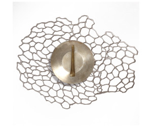Chilewich Tischset Sea Lace oval silber -002 (35.3x45 cm)