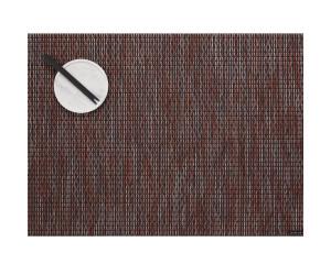 Chilewich Tischset Rechteckig Wabi Sabi dunkelrot -001 (36x38 cm)