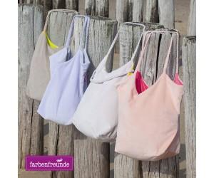 Farbenfreunde Tasche baiser/sonnengelb
