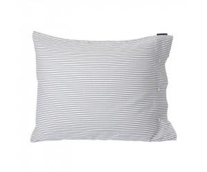Lexington Bettwäsche Tencel Striped in weiß/schwarz