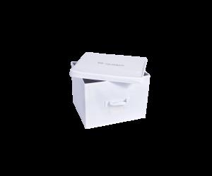 The Laundress Aufbewahrungsbox Storage Cube white (27x27x27x cm)