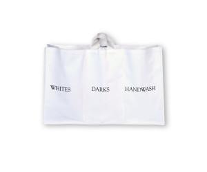 The Laundress Wäschekorb Trible Sorter white (76,2x25,4x48,3 cm)
