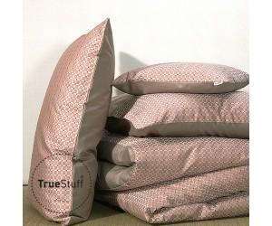 TrueStuff Bettwäsche Tiles rosewood