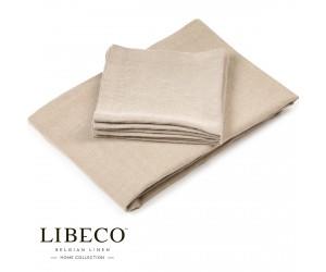 Libeco Tischdecke Timmery flax