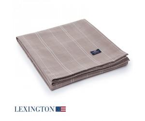 Lexington Tischdecke Checked beige/weiß