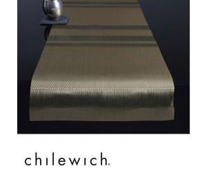 Chilewich Läufer Tuxedo Stripe gold