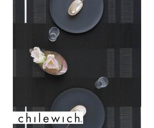 Chilewich Läufer Tuxedo Stripe schwarz