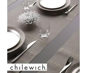 Chilewich Läufer Tuxedo Stripe braun (sable)