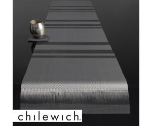 Chilewich Läufer Tuxedo Stripe silber