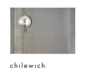 Chilewich Tischset Tuxedo Stripe silber