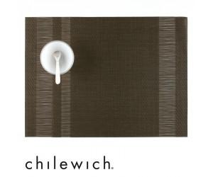 Chilewich Tischset Tuxedo Stripe braun (sable)