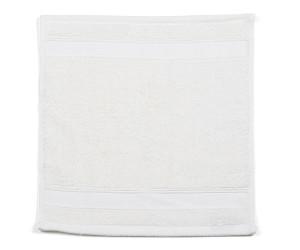 Libeco Waschlappen Simi optic white (30x30cm)