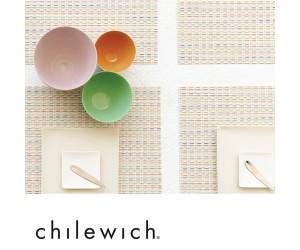 Chilewich Tischset Wicker sugar