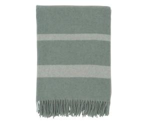 Lexington Wolldecke Hotel Wool Throw grün/weiß (130x170cm)