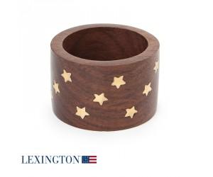 Lexington Serviettenring Wodden