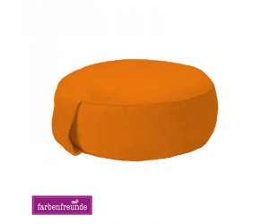 Farbenfreunde Yogakissen soft orange