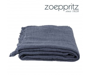 Zoeppritz Plaid Honeybee mittelblau