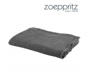 Zoeppritz Plaid Honeybee dunkelgrau