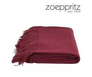 Zoeppritz Plaid Attitude rot -380 (130 x 200 cm)