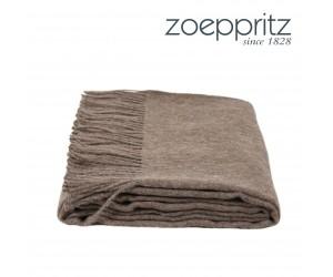 Zoeppritz Plaid Attitude schokobraun -860 (130 x 200 cm)
