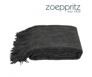 Zoeppritz Plaid Attitude anthrazit -960 (130 x 200 cm)