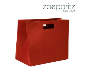 Zoeppritz Magazin Box Ship Shape rot