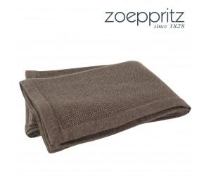 Zoeppritz Plaid Infinity chocolat-870