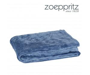 Zoeppritz Plaid Microstar jeansblau-540