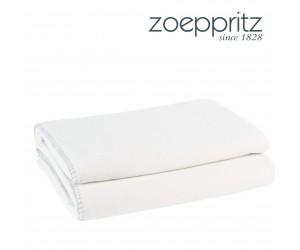 Zoeppritz Plaid Soft-Fleece polarweiß