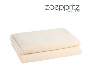 Zoeppritz Plaid Soft-Fleece cream
