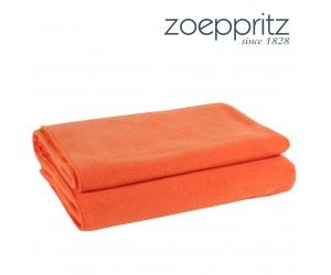 Zoeppritz Plaid Soft-Fleece orange