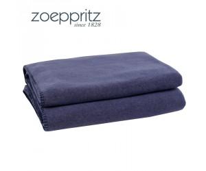 Zoeppritz Plaid Soft-Fleece jeansblau/indigo