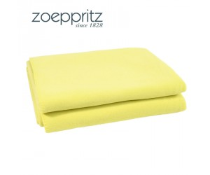 Zoeppritz Plaid Soft-Fleece gelbgrün