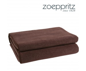 Zoeppritz Plaid Soft-Fleece braun