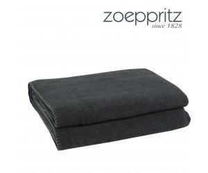 Zoeppritz Plaid Soft-Fleece dunkelgrau