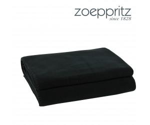 Zoeppritz Plaid Soft-Fleece schwarz