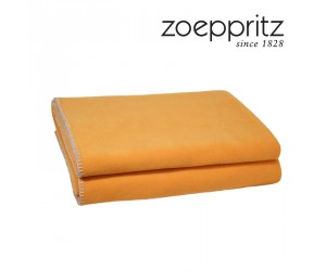 Zoeppritz Soft Fleece Plaid safran