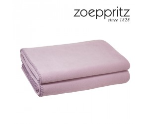 Zoeppritz Plaid Soft-Fleece lavendel
