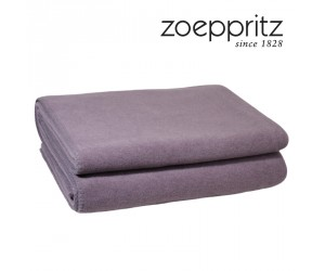 Zoeppritz Plaid Soft-Fleece light violet
