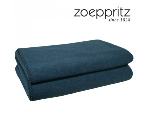 Zoeppritz Plaid Soft-Fleece dark ocean