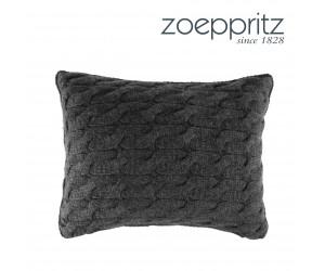 Zoeppritz Cashmere-Kissen Soulmate anthrazit