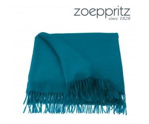 Zoeppritz Cashmere-Plaid Vanity petrol-780