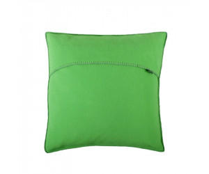 Zoeppritz Dekokissen Soft-Fleece neon green (50 x 50 cm)