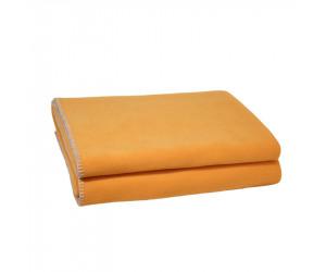 Zoeppritz Soft Fleece Plaid safran
